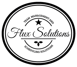 Flux Solutions team management and scheduling